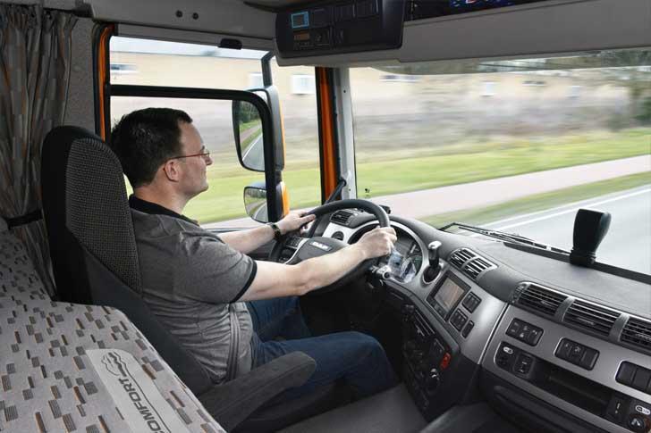 Sistemas de ayuda a la conducción en Vehículos Industriales