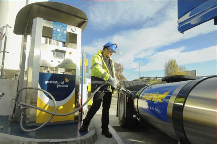 Conducción de vehículos de gas